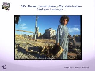 CIDA: The world through pictures  –  War-affected children Development challenges  # 1