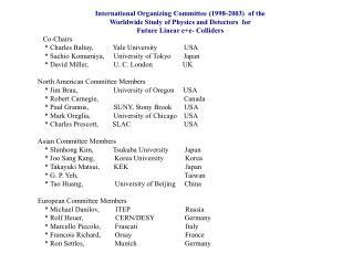 IOC LCWS