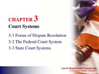 CHAPTER  3 Court Systems