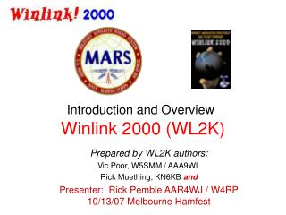 Winlink 2000 WL2K