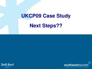 UKCP09 Case Study Next Steps??