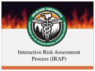 Interactive Risk Assessment Process (IRAP)