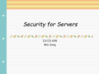 Security for Servers