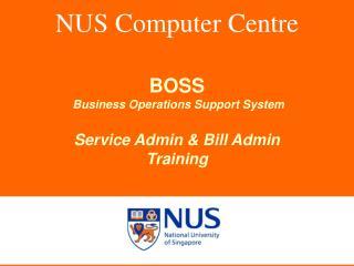 NUS Computer Centre