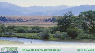 Renewable Energy Development