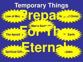 Temporary Things