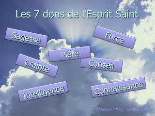 Les 7 dons de l'Esprit Saint