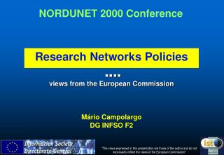 ? ? ? ?  views from the European Commission