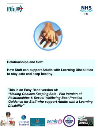 Relationships and Sex:  How Staff can support Adults with Learning Disabilities