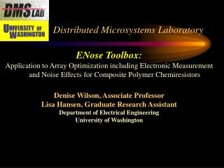 Distributed Microsystems Laboratory