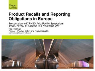 Product Recalls and Reporting Obligations in Europe