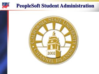 PeopleSoft Student Administration