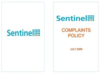 COMPLAINTS POLICY JULY 2009