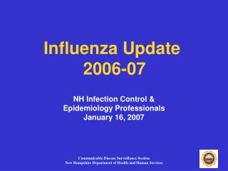Influenza Update  2006-07