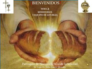 TEMA  2 MINISTERIOS  Y EQUIPO DE  LITURGIA