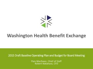 2015 Draft Baseline Operating Plan and Budget for Board Meeting