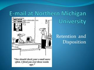 E-mail at Northern Michigan University