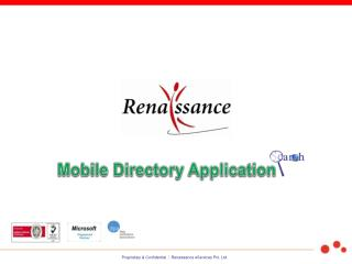 Mobile Directory Application
