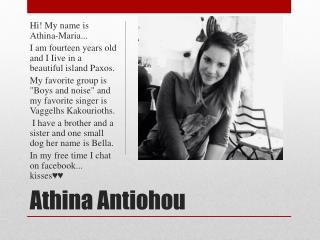 Athina Antiohou