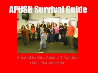 APUSH Survival Guide