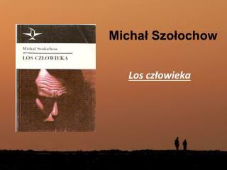 Michał Szołochow