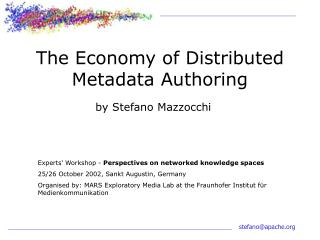 The Economy of Distributed Metadata Authoring