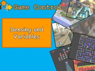 Sensing  and Variables