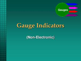 Gauge Indicators