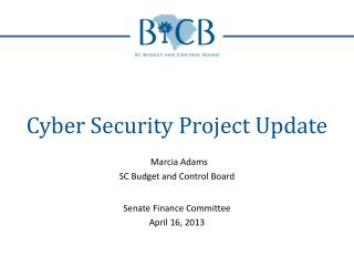 Cyber Security Project Update