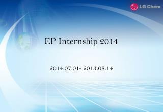 EP  Internship  2014