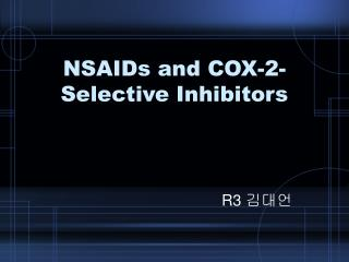 NSAIDs and COX-2-Selective Inhibitors