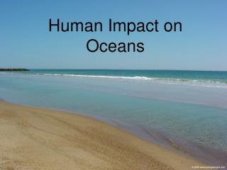 Human Impact on Oceans