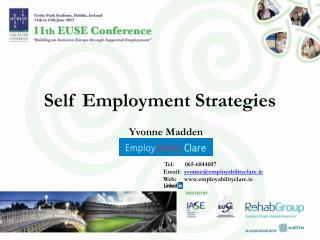 Self Employment Strategies