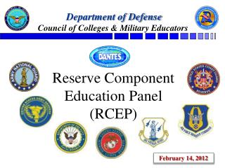 Reserve Component Education Panel (RCEP)
