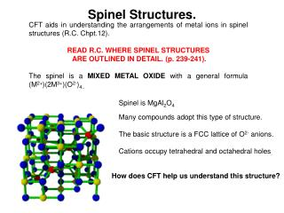Spinel Structures.