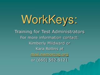 WorkKeys: