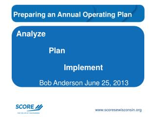 Analyze                Plan                       Implement