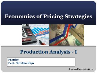 Economics of Pricing Strategies