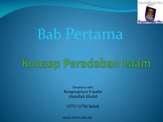 Konsep Peradaban  Islam