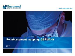 Reimbursement mapping:  GERMANY