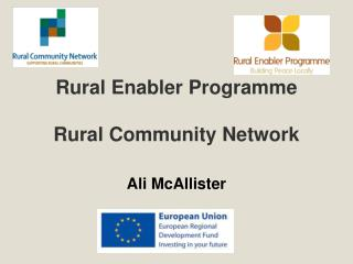 Rural Enabler Programme Rural Community Network
