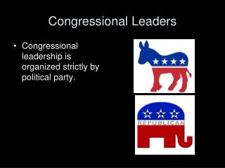 Congressional Leaders