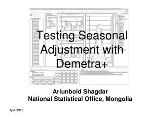 Testing Seasonal Adjustment with Demetra+