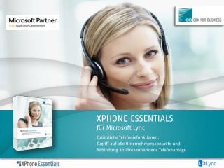 XPHONE ESSENTIALS für Microsoft Lync