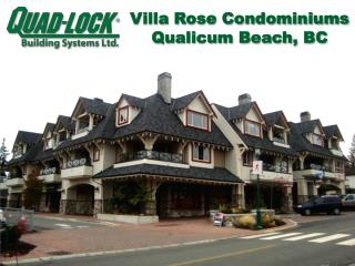 Villa Rose Condominiums Qualicum Beach, BC