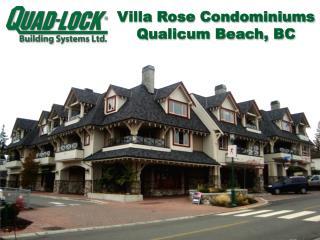 Villa Rose Condominiums Qualicum Beach, BC