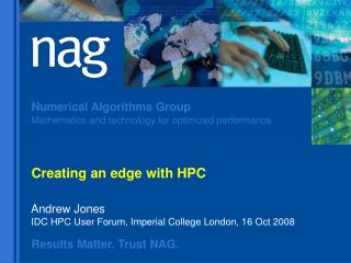 Creating an edge with HPC