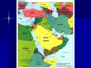 Geography Middle East map lib.utexas