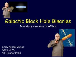 Galactic Black Hole Binaries