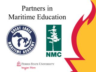 Partners in  Maritime Education